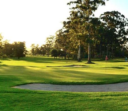 18th hole knysna golf