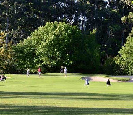 10th hole knysna golf club