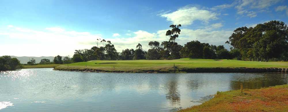 11th hole knysna golf club