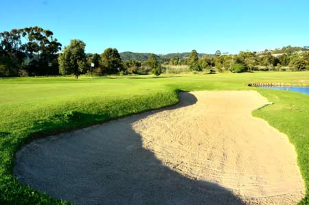 11th hole bunker