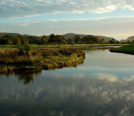 12th hole knysna golf