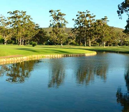3rd hole knysna golf club