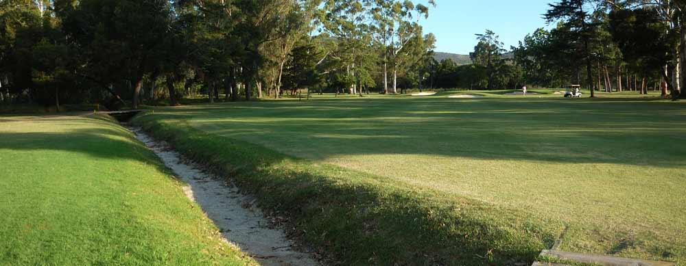 7th hole knysna golf club