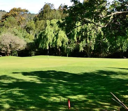 9th hole at Knysna Golf Club