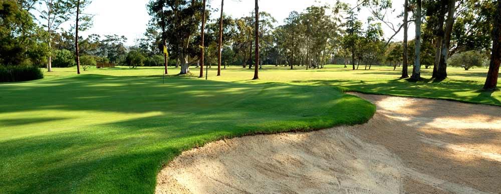 17th hole knysna golf club