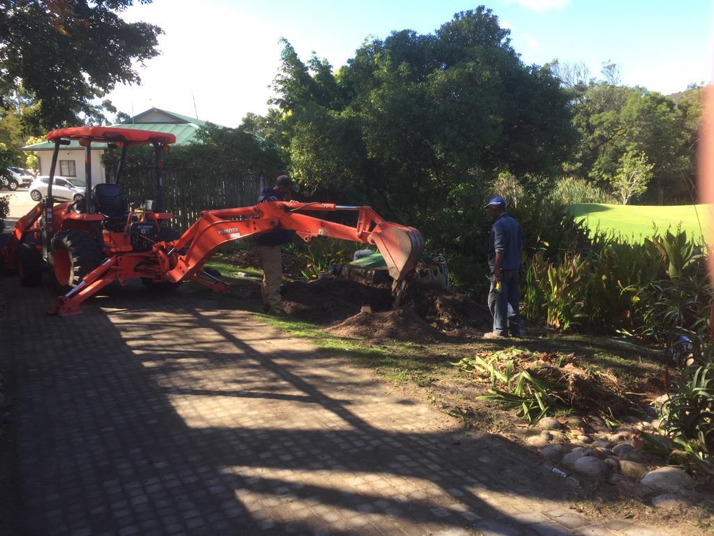 Gardens refurbishment