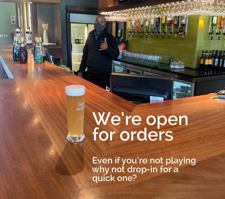 Our pub is now open!